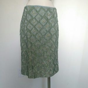 Amazing Douglas Hannant sequen beaded skirt